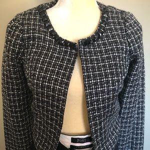 🛍 3 for $35! Heartsoul tweed blazer jacket Sz S